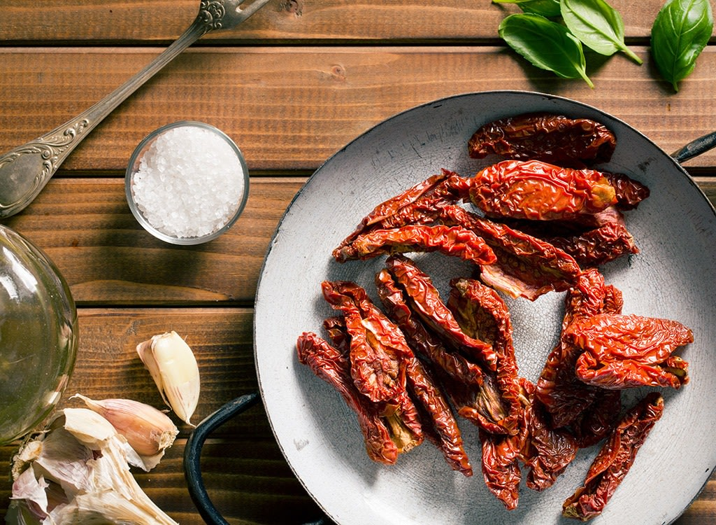 best high protein foods for weight loss - sun dried tomatoes