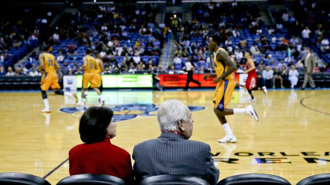 NBA: Houston Rockets at New Orleans Hornets