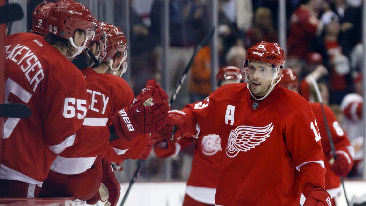NHL: Los Angeles Kings at Detroit Red Wings
