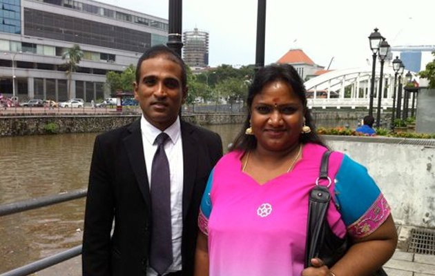 The Court of Appeal has allowed the Attorney-General Chambers to withdraw its appeal against the application by Hougang resident Vellama Marie Muthu (right).