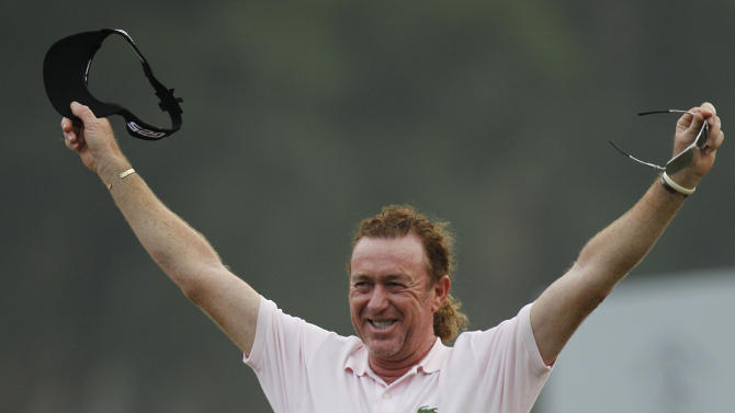 Jimenez wins 4th Hong Kong Open title in playoff