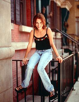 Amy Jo Johnson as Julie Emrick in WB's Felicity Felicity