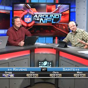 'Around the NFL' Podcast: Ravens vs. Saints preview