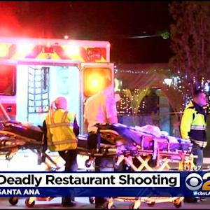 1 Dead, 4 Injured In Shooting At Santa Ana Restaurant