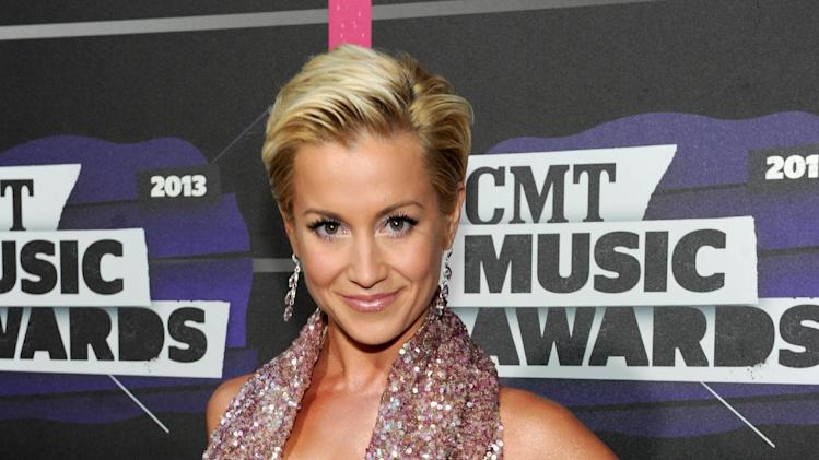 Kellie Pickler arrives at the 2013 CMT Music Awards at Bridgestone Arena on Wednesday, June 5, 2013, in Nashville, Tenn. (Photo by Frank Micelotta/Invision/AP)