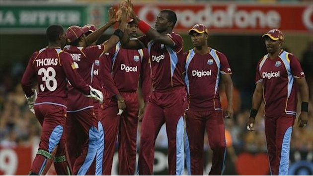 Cricket - West Indies finish tour with T20 win in Brisbane