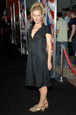 Leslie Mann at the LA premiere of Columbia's Talladega Nights: The Ballad of Ricky Bobby