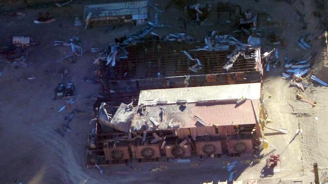 2 workers hurt in natural gas explosion near Price