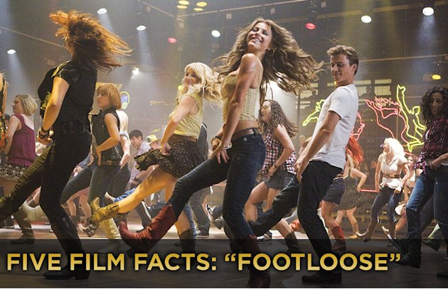 Five Film Facts Footloose titlecard