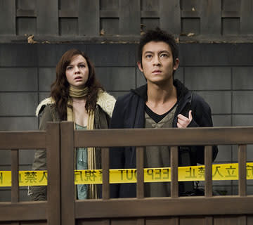 Amber Tamblyn and Edison Chen in Columbia Pictures' The Grudge 2