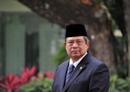 "Indonesian President Susilo Bambang (pictured in May) Yudhoyono arrives in Australia on Monday amid a political storm over people-smuggling, with the ""evil trade"" looming large in talks with Prime Minister Julia Gillard"