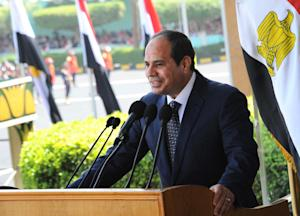This image released by Egypt's official Middle…