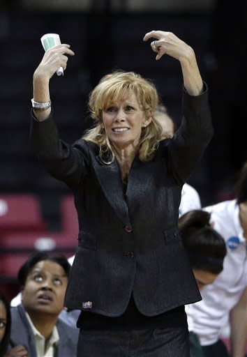 Maryland women beat Michigan State 74-49 in NCAAs