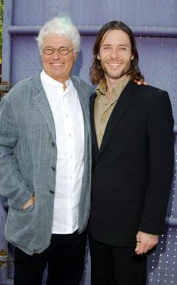 Director Jean-Jacques Annaud and Guy Pearce at the Los Angeles premiere of Universal's Two Brothers