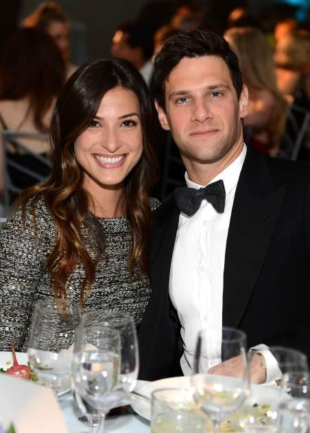 Lia Smith and Justin Bartha at The Art of Elysium's 6th Annual HEAVEN Gala on January 12, 2013  -- Getty Images