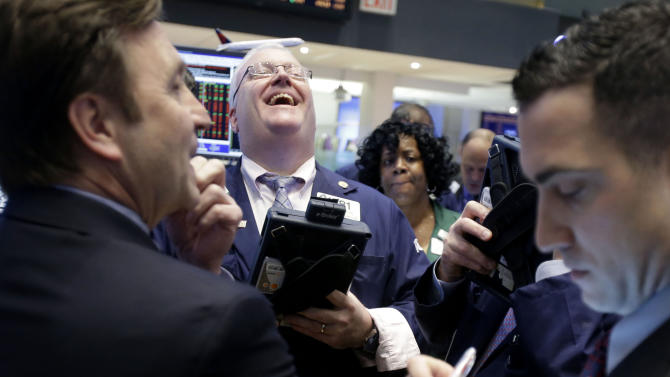 Dow logs best January in nearly 2 decades