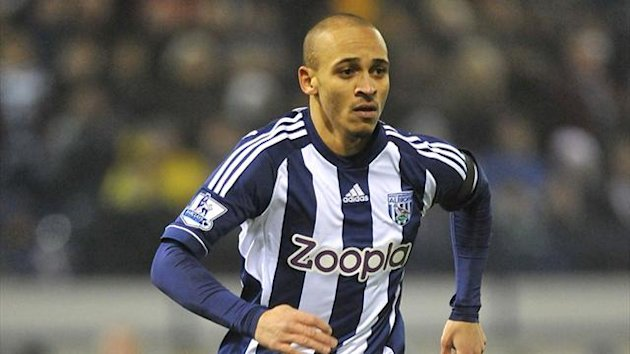 Peter Odemwingie, West Bromwich Albion (PA Photos)