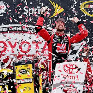 Busch celebrates emotional 26th career victory