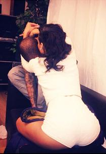 Chris Brown and Rihanna | Photo Credits: Rihanna/Instagram