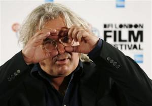 """Director Paul Greengrass attends a photocall for his film """"Captain Phillips"""" during the BFI (British Film Institute) London Film Festival in this file photo"""