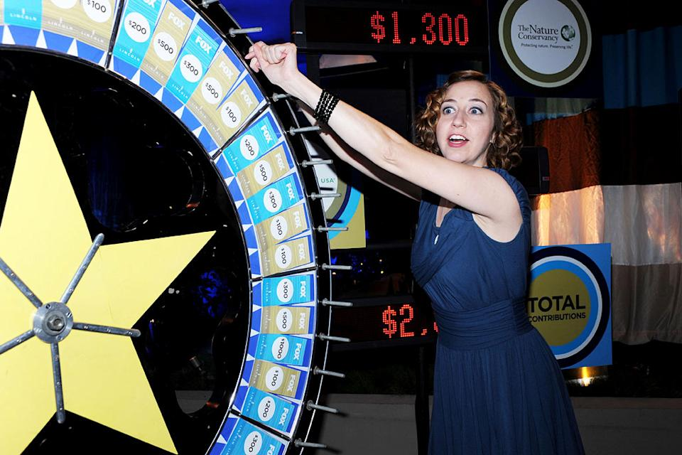 "Kirsten Schaal of ""Bob's Burgers"" celebrates at the 2010 Fox Fall Eco-Casino party on September 13, 2010, at Boa in West Hollywood."
