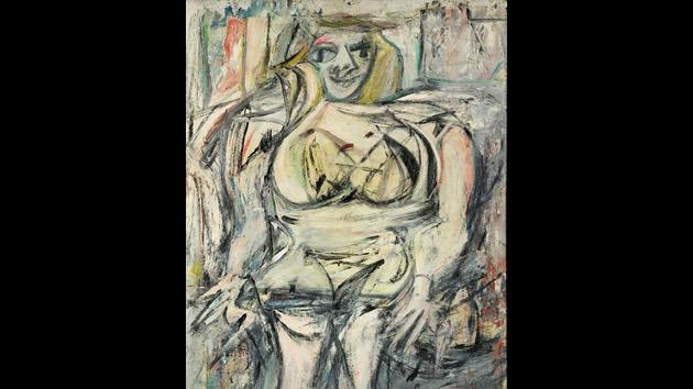 """""""Woman III"""" by Willem De Kooning, sold for $137.5 million in 2006."""