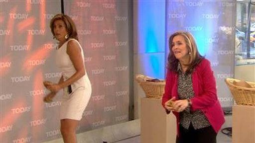 Hoda's Fruitcake Toss: 'Right in the Kisser!'
