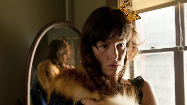 "Paz de la Huerta stars as Lucy Danziger in ""Boardwalk Empire."""