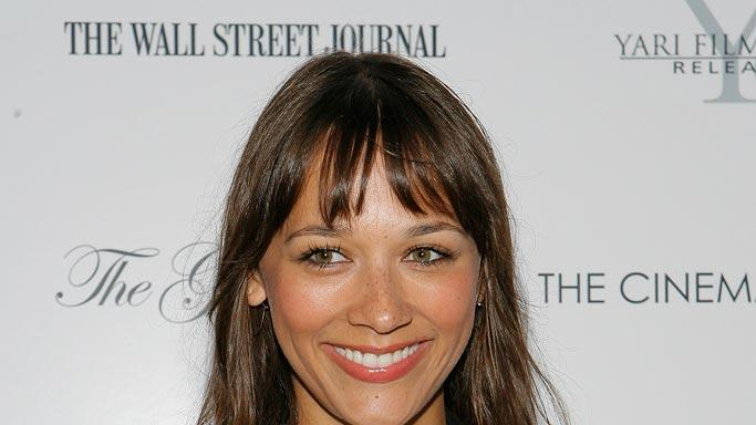 "Rashida Jones arrives at a special movie screening of Director Jake Paltrow's ""The Good Night""."