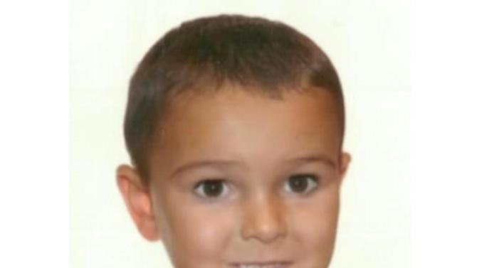 Image released by Hampshire Constabulary on August 29, 2014 shows five-year-old cancer patient Ashya King