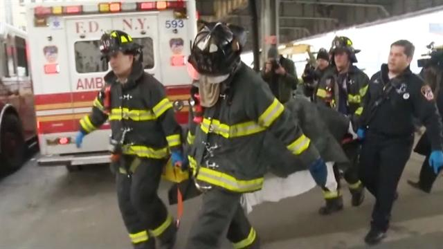 At least 50 injured in NYC ferry accident