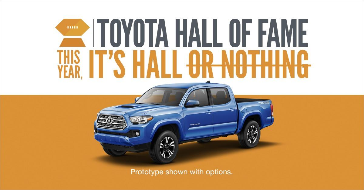 This year, It's Hall or Nothing.