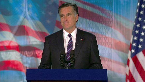 Romney: 'This is a time of great challenges'