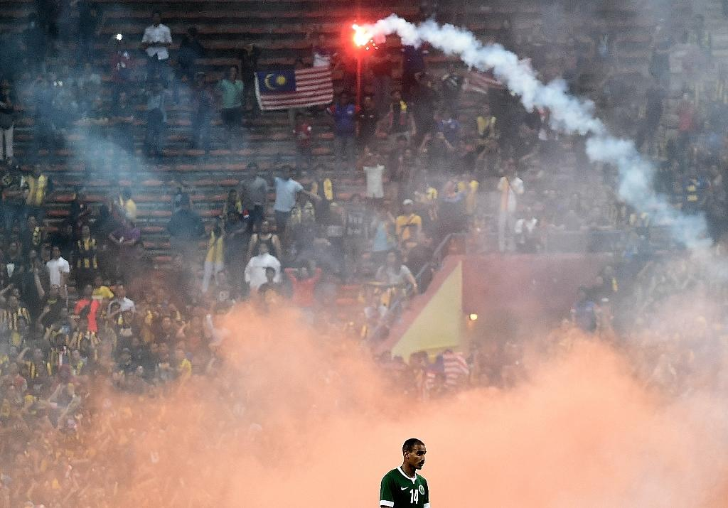 FIFA sanctions Malaysia over crowd trouble