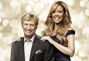 Nigel Lythgoe and Mary Murphy | Photo Credits: Patrick Ecclesine/Fox