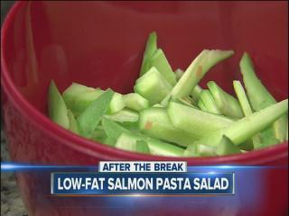 Sunday Brunch:  Julie Wheeler's low-fat Asian salmon pasta salad part I