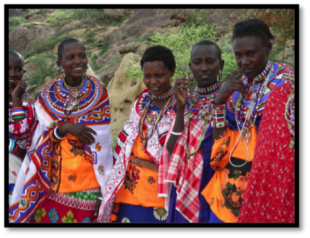 Women of the Masaai Tribe, Kenya