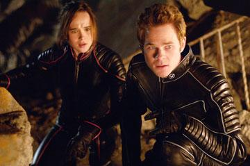 Ellen Page as Kitty Pryde and Shawn Ashmore as Iceman in 20th Century Fox's X-Men: The Last Stand