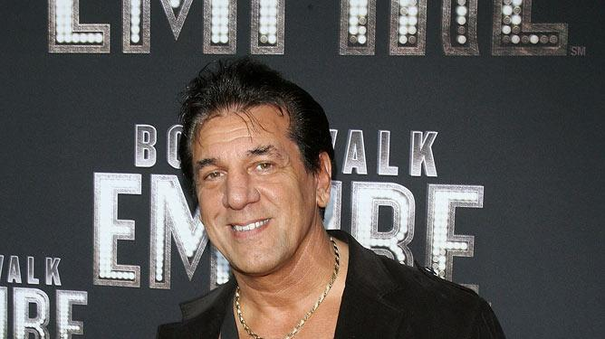 "Chuck Zito attends the premiere of ""Boardwalk Empire"" at the Ziegfeld Theatre on September 15, 2010, in New York City."