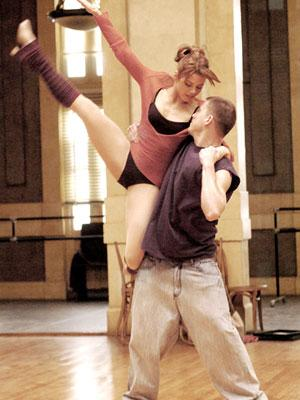 Jenna Dewan and Channing Tatum in Touchstone Pictures' Step Up