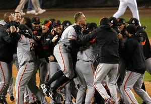 The San Francisco Giants | Photo Credits: Leon Halip/Getty Images