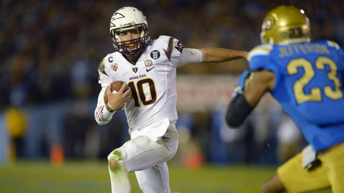 Arizona St holds off UCLA 38-33, wins Pac-12 South