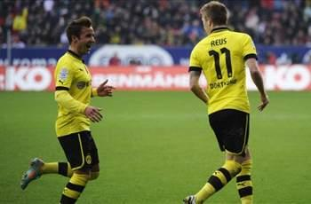 Augsburg 1-3 Borussia Dortmund: Reus rocket and Lewandowski double earn champions comfortable away win
