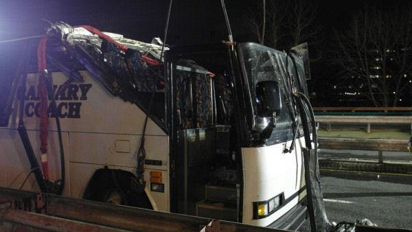 Bucks Co. students arrive home after Boston bus crash