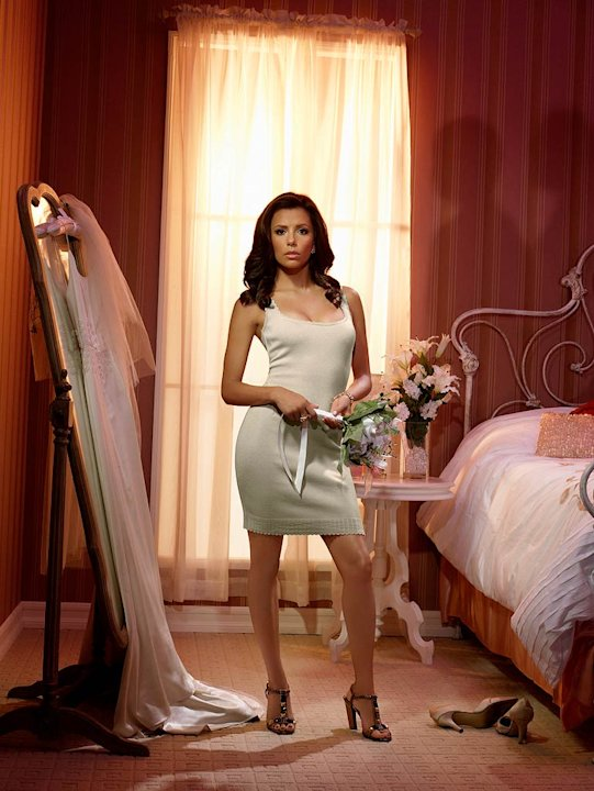 Eva Longoria stars as Gabrielle Solis in Desperate Housewives. 