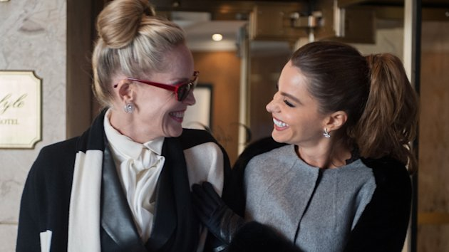 Sharon Stone and Sofia Vergara in 'Fading Gigolo' (Photo: Photo: Millennium Entertainment)