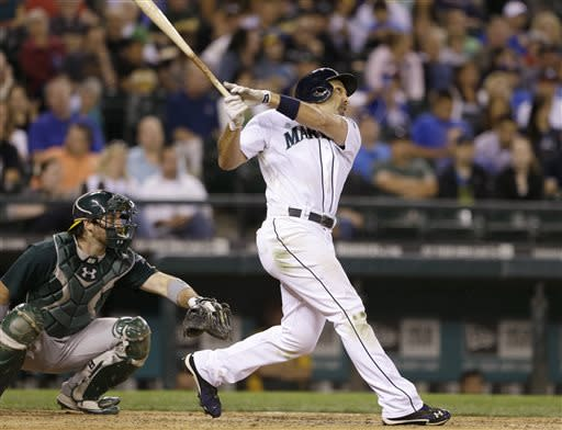 Franklin drives in 3 as Mariners top A's