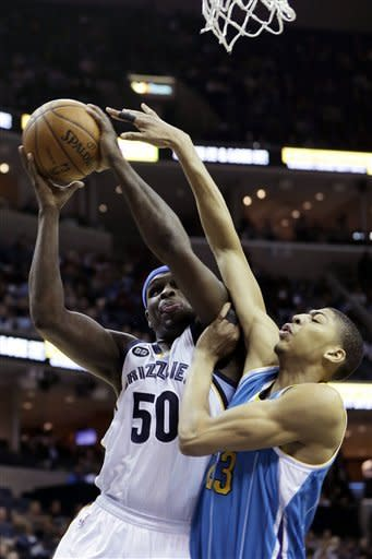 Anderson helps Hornets top Grizzlies 91-83