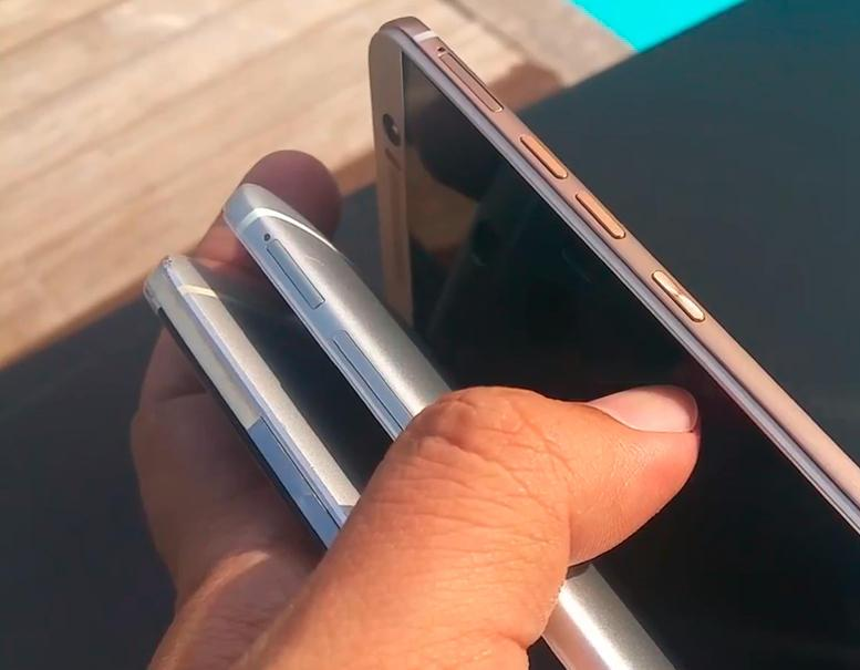 HTC One M9 phone is star of supposedly leaked hands-on video