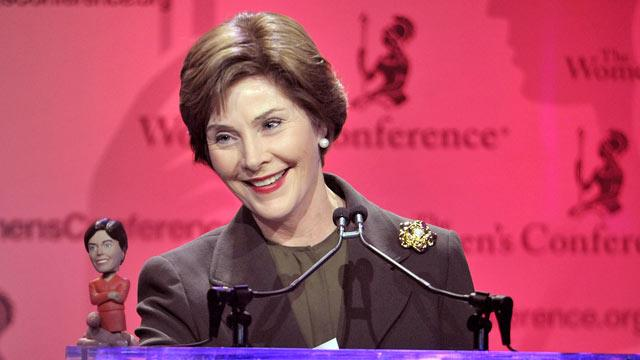 Laura Bush Wants Off Gay Marriage Ad